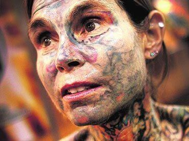 Julia Gnuse Julia Gnuse is The Worlds Most Tattooed Woman Wow Amazing