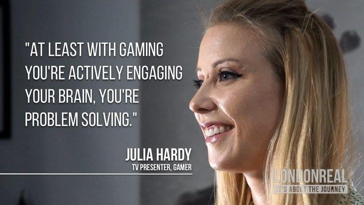 Julia Hardy Julia Hardy on TV vs Gaming YouTube