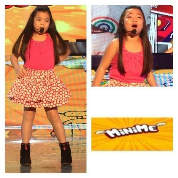 Julia Montes Mommy Bear Yung MiniMe mo Ang cute She just like you askfm