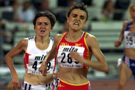 Julia Vaquero Julia Vaquero durante una carrera Deportes EL PAS