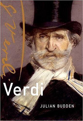 Julian Budden Verdi Master Musicians Series Julian Budden 9780190273989