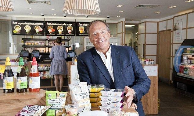 Julian Metcalfe Julian Metcalfe We39re ahead of US in fast food says Pret