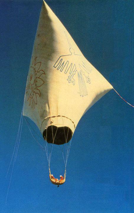 Julian Nott (balloonist) Nazca Julian Nott
