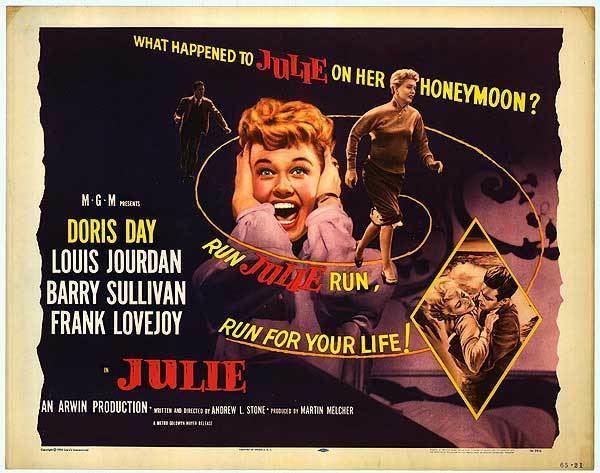 Julie (1956 film) Julie movie posters at movie poster warehouse moviepostercom