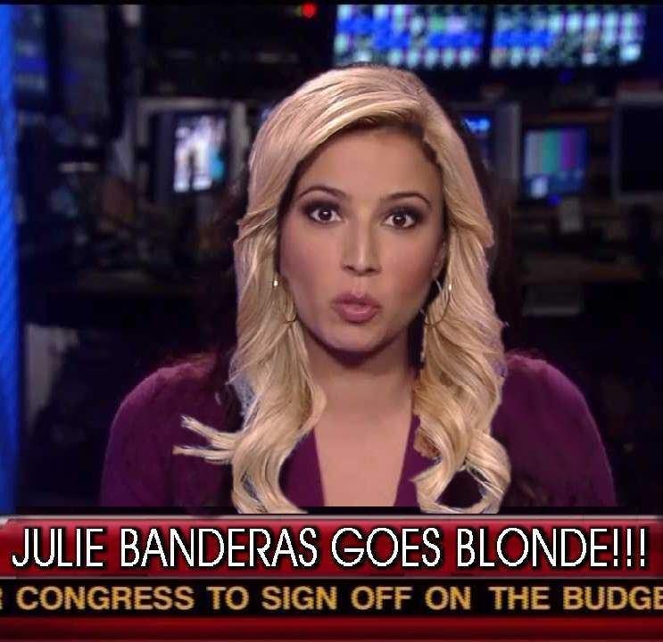Julie Banderas Fox News39 Julie Banderas goes blonde for April Fools39 Day