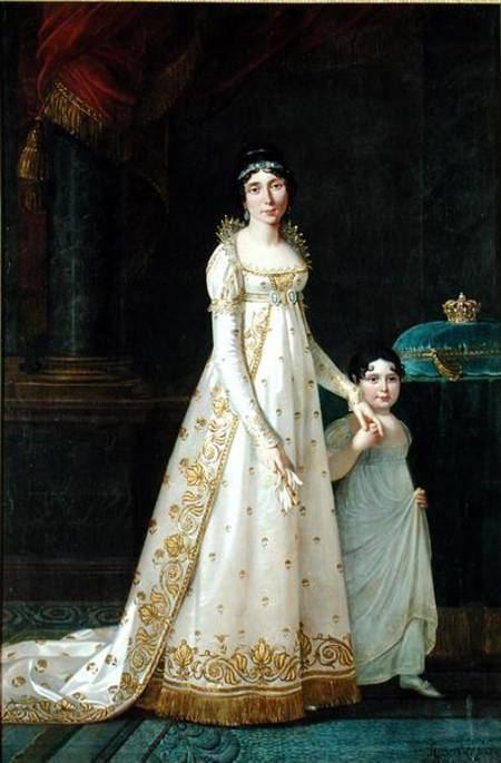 Julie Clary Portrait of MarieJulie Clary 17771845 Robert Lefevre