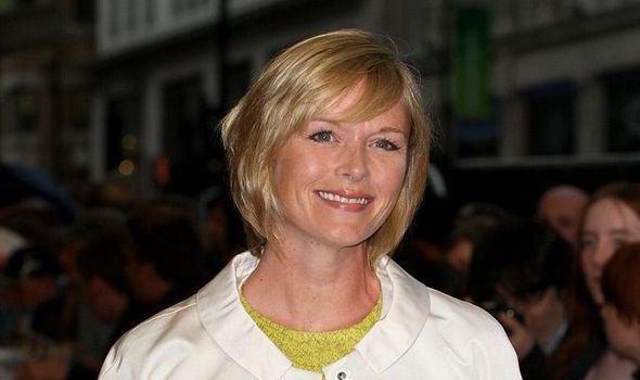 Julie Etchingham Newsreader Julie Etchingham Saturday mornings always