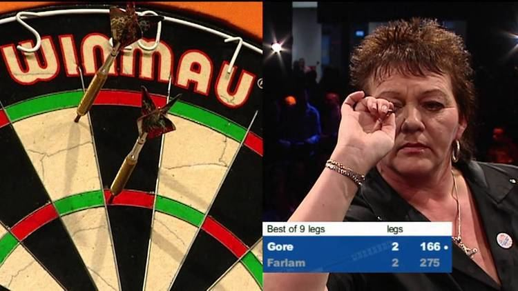 Julie Gore DO2012 04 Ladies Final Julie Gore vs Lorraine Farlam YouTube