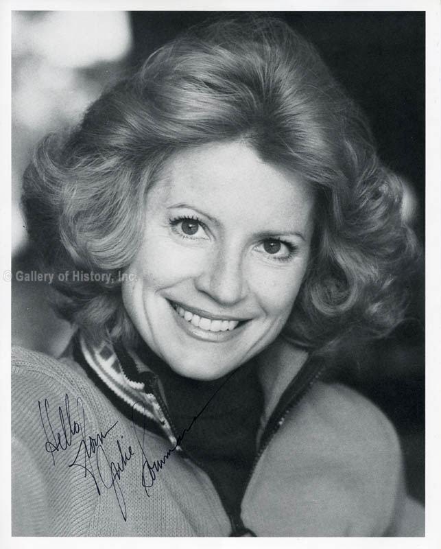 Julie Sommars Julie Sommars Photograph Signed Autographs Manuscripts