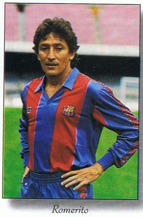 Julio Cesar Romero Futbolistas con historia Julio Csar Romero quotRomeritoquot