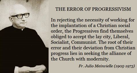 Julio Meinvielle From Catholic Church to Agnostic Church