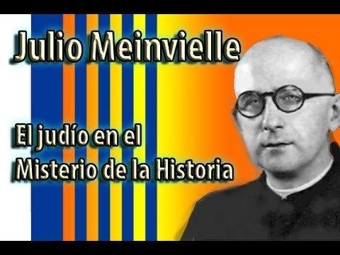 Julio Meinvielle El Judo en el misterio de la historia Padre Julio
