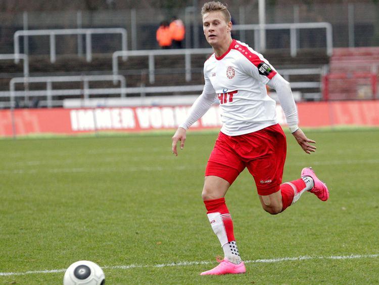 Julius Biada Biada vor Wechsel nach Braunschweig 3 Liga kicker