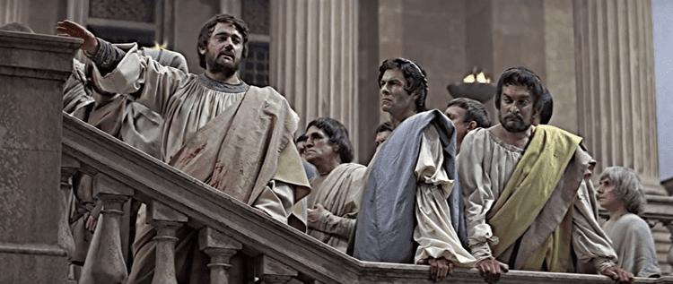 Julius Caesar (1970 film) The Rogues Guide to Shakespeare on Film 35 Julius Caesar 1970
