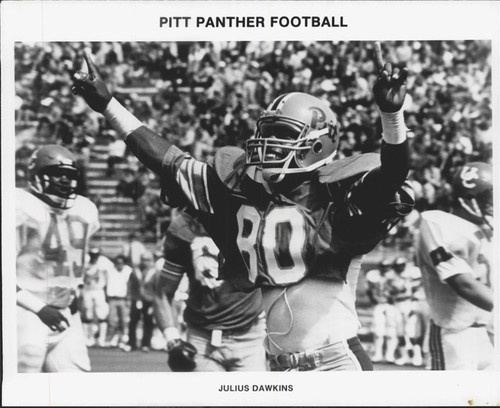 Julius Dawkins 1980s Pitt Panther Football Player Julius Dawkins Sports