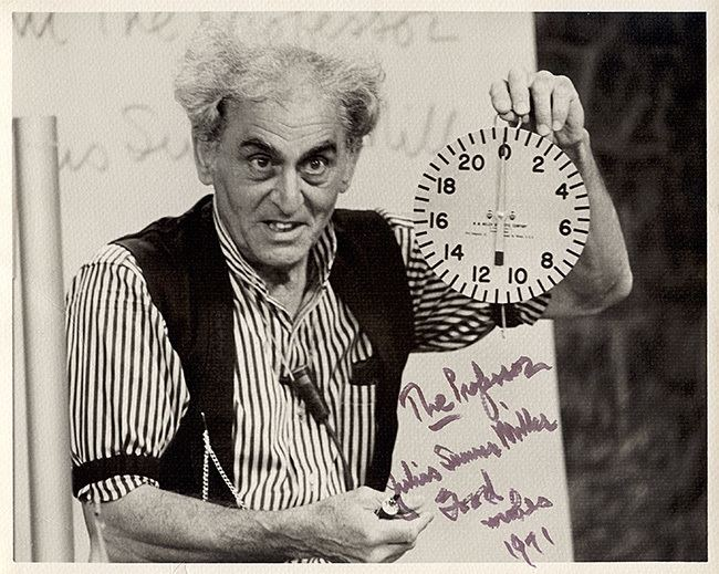 Julius Sumner Miller The Hilarious House of Frightenstein with Billy Van