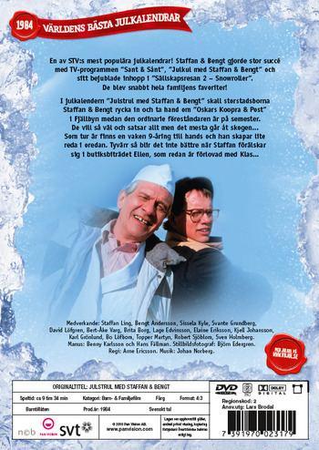 Julstrul med Staffan & Bengt Julstrul med Staffan och Bengt 3disc DVD Discshopse