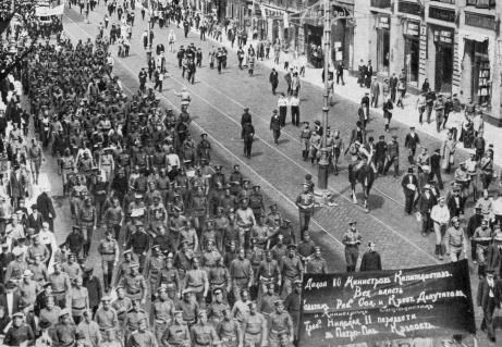 July Days July Days Images Seventeen Moments in Soviet History