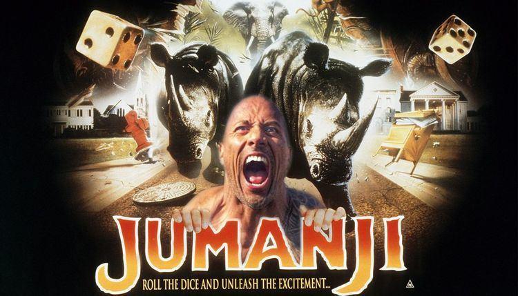 Jumanji (2017 film) Jumanji and Star Wars 8 to go head to head as Dwayne Johnson reboot