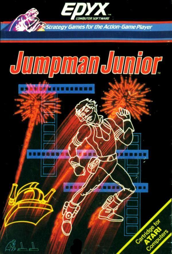 Jumpman Junior Atari 400 800 XL XE Jumpman Junior scans dump download