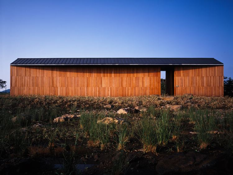 Jun Itami Three Art Museums WIND Jeju South Korea Itami Jun Architects