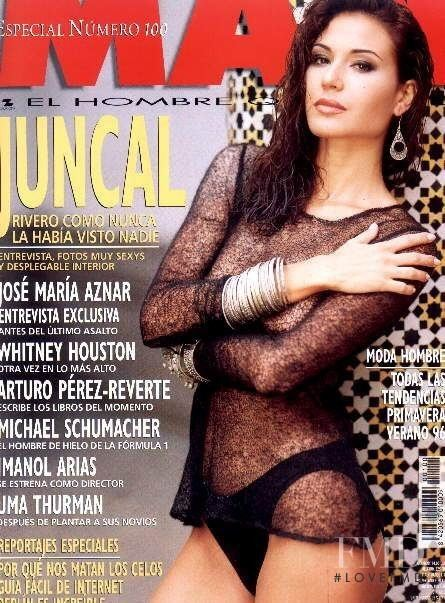 Juncal Rivero Covers of Man with Juncal Rivero 000 1996 Magazines