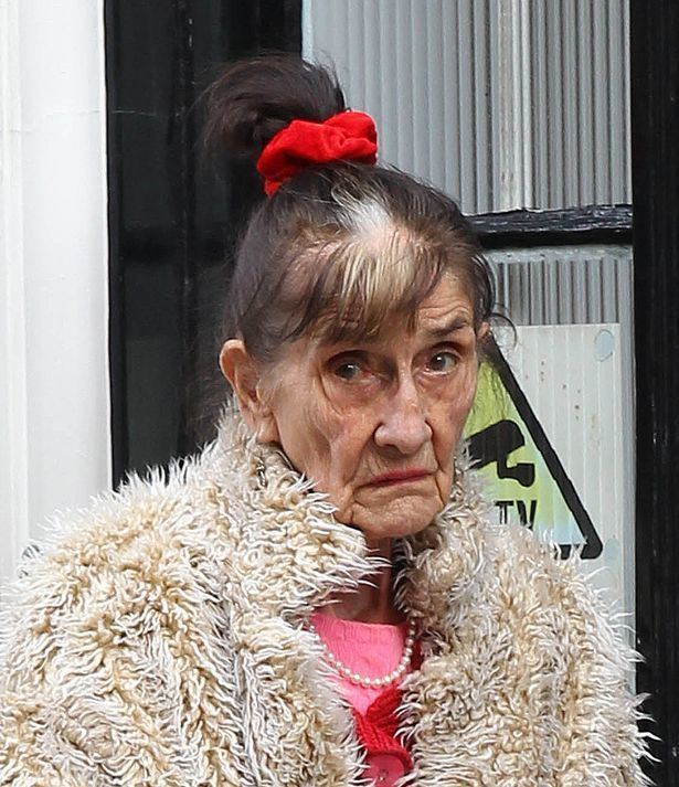 June Brown June Brown looks NOTHING like Dot Cotton as she wears furry jacket