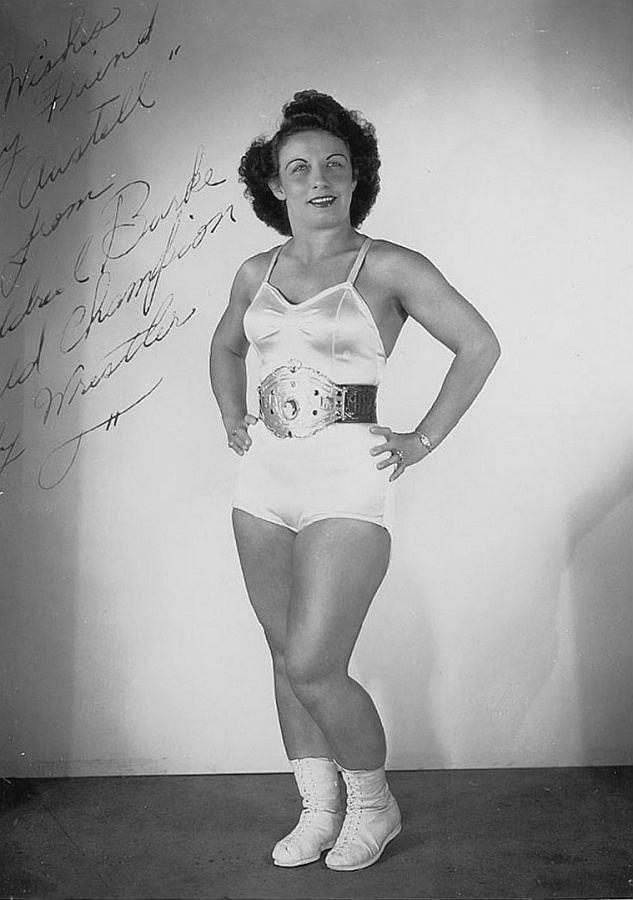 June Byers Mildred Burke vs June Byers The Best Female Professional