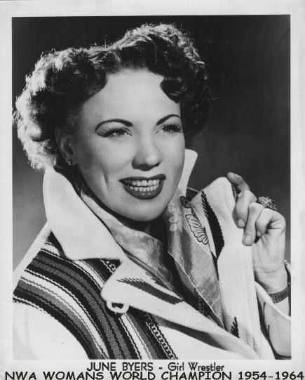June Byers Lady Wrestlers 2 Cauliflower Alley Club
