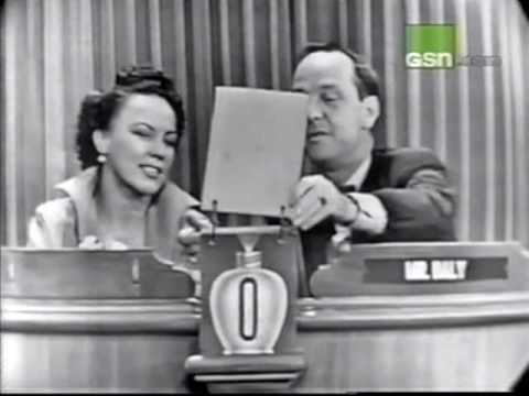 June Byers June Byers on Whats My Line YouTube