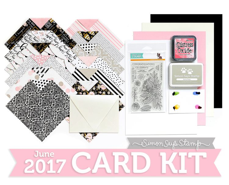 June Card Blissful June Card Kit Reveal and Inspiration Simon Says Stamp Blog