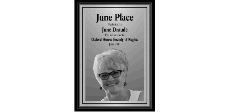 June Draude New Oxford Home in Regina named after former politician June Draude