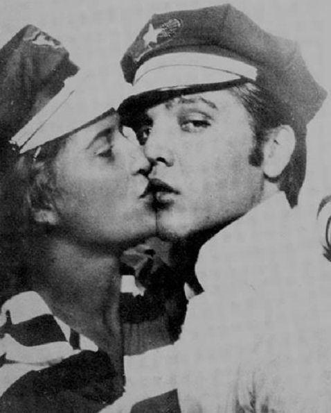 June Juanico elvis and june juanicowith quotfamousquot star caps he