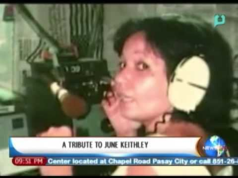 June Keithley NewsLife A Tribute to June Keithley November 25 2013