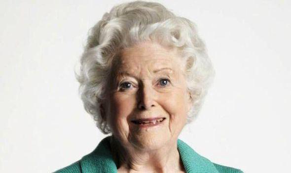 June Spencer June Spencer Lifetime award for Archers39 Peggy Woolley