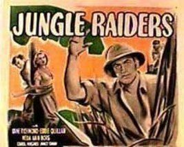 Jungle Raiders (serial) JUNGLE RAIDERS 15 CHAPTER SERIAL 1944 for sale