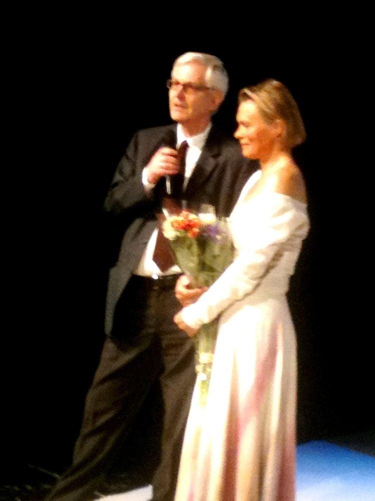 Juni Dahr Brilliant Juni Dahr with Ibsen in Vilnius Kulturkompasset