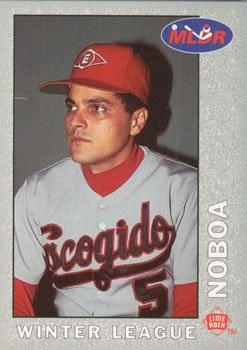 Junior Noboa Escogido Leones Gallery The Trading Card Database