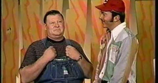 Junior Samples junior samples Johnny Bench and Junior Samples Laughing It Up