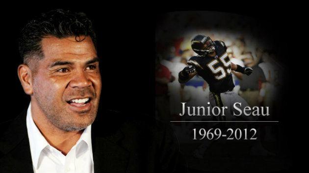 Junior Seau Junior Seau College Football Clemson Alabama AFAN