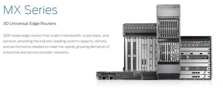 Juniper MX-Series Juniper Networks MX Series