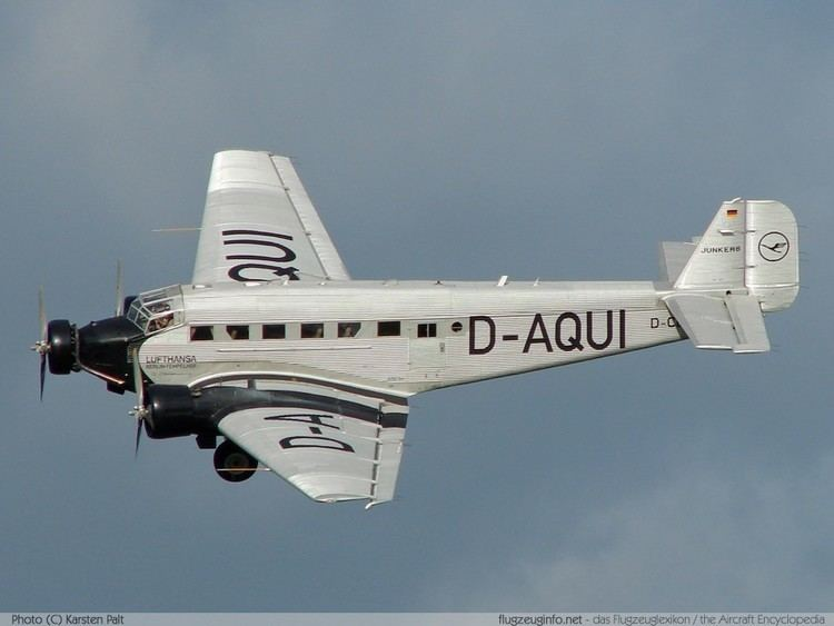 Junkers Ju 52 wwwflugzeuginfonetacimagesju52kpjpg