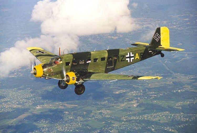 Junkers Ju 52 Warbird Alley Junkers Ju 523m
