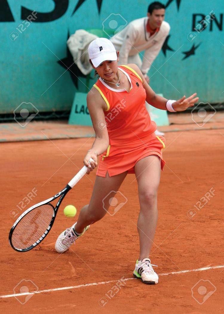 Junri Namigata PARIS MAY 21 Japanese Professional Tennis Player JUNRI