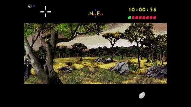Jurassic Park (Sega CD video game) Jurassic Park Sega CD 60fps YouTube