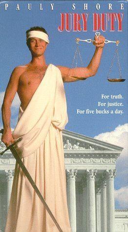 Jury Duty (film) Amazoncom Jury Duty VHS Pauly Shore Tia Carrere Stanley Tucci