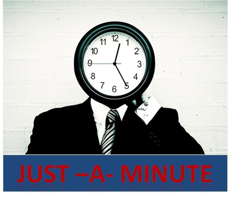 Just a Minute just a minuteJAM Topics JAM Tips Just a Min Topics just a minute