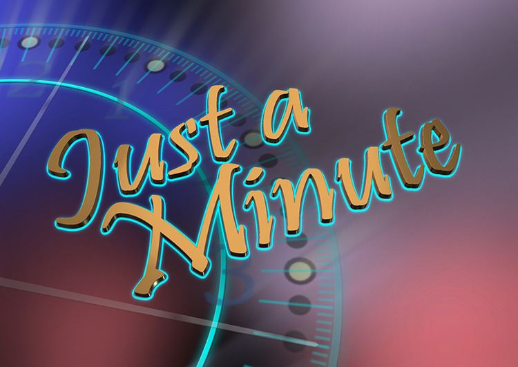 Just a Minute Just a minute New Programme Coming to Revelation TV Rnews