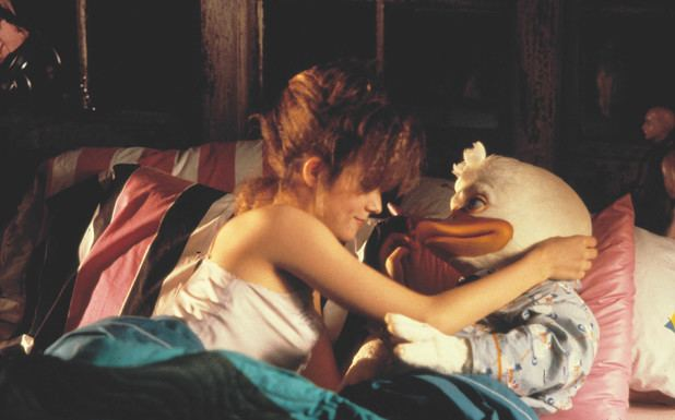 Just Ducky movie scenes Howard The Duck Howard A New Breed Of Hero and Lea Thompson