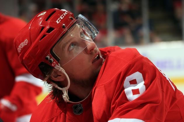 Justin Abdelkader Detroit Red Wings39 Justin Abdelkader Well on His Way to